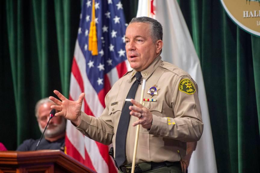 Top LA homeless agency, county officials, service providers to Villanueva