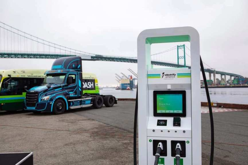 LA, Long Beach get $25 million investment for zero emission vehicle infrastructure at ports
