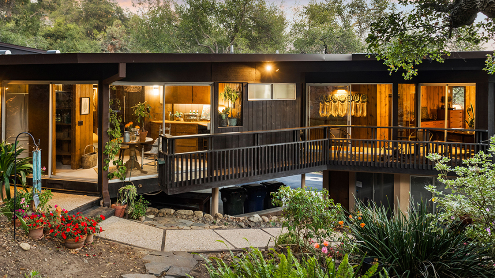 Topanga mid-century home on the market for the first time