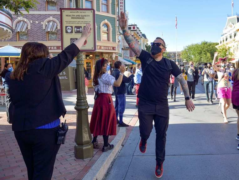 Discounted Disneyland tickets for California residents return in the middle of summer