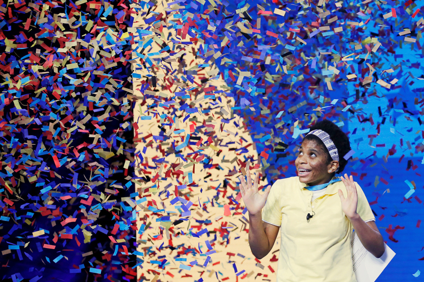Louisiana teen becomes the first African American contestant to win National Spelling Bee