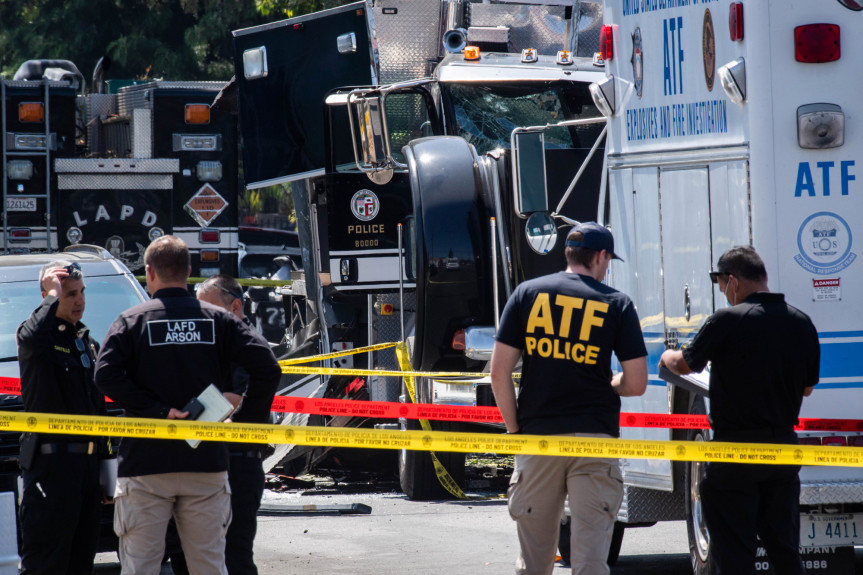 LAPD bomb squad miscalculated explosives before South LA blast