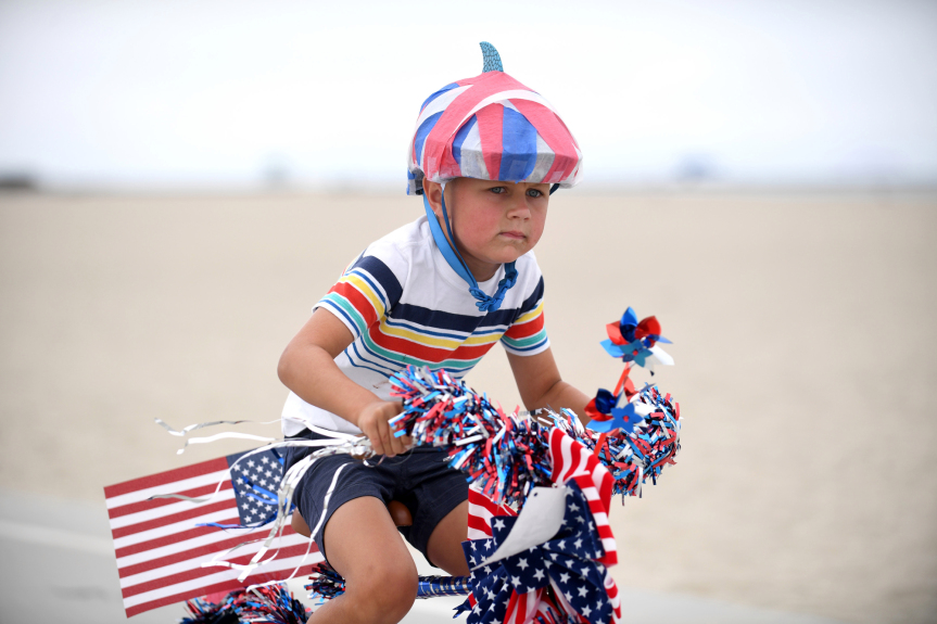 Old Glory waves anew as July 4 events bring folks together; officials still urge pandemic-era caution