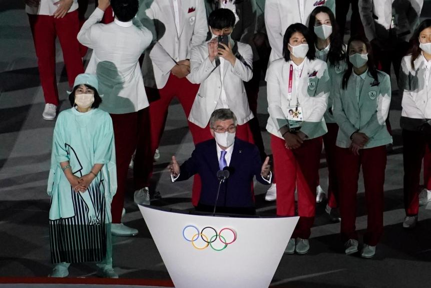 Emperor declares Tokyo Olympics officially open