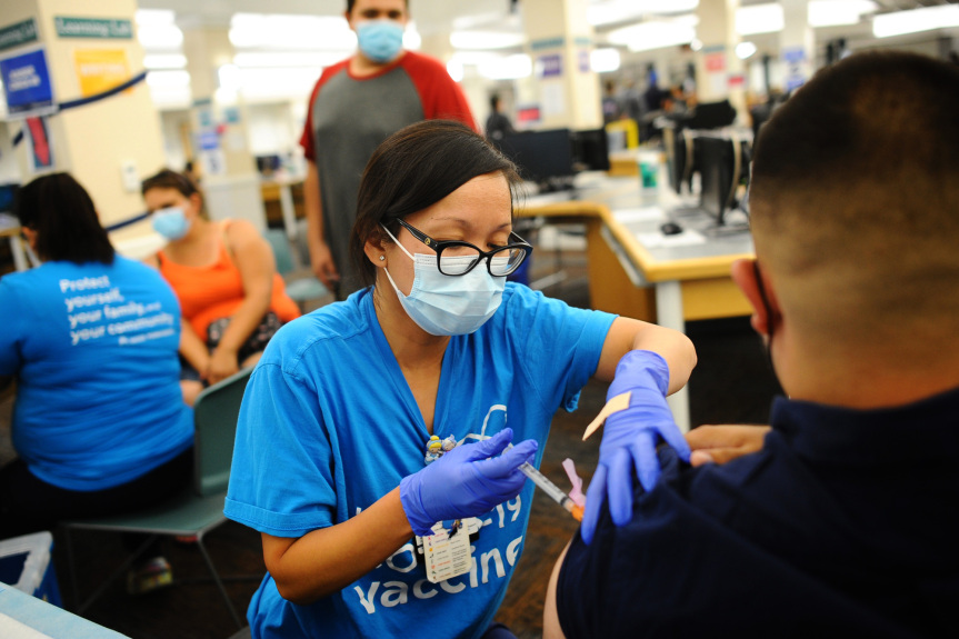 COVID variant continues relentless spread in LA County, even among vaccinated residents