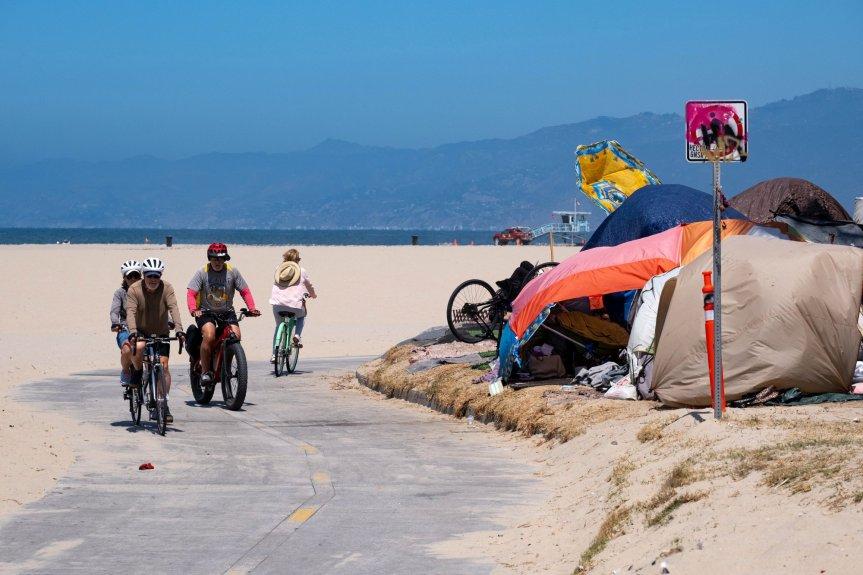 Bonin's program brings 160 unhoused people indoors from Venice boardwalk encampment