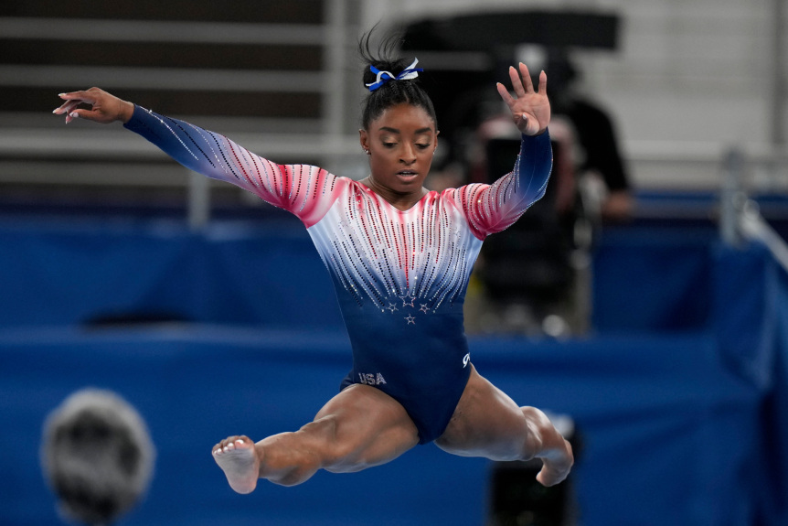Simone Biles captures historic 7th medal in her return