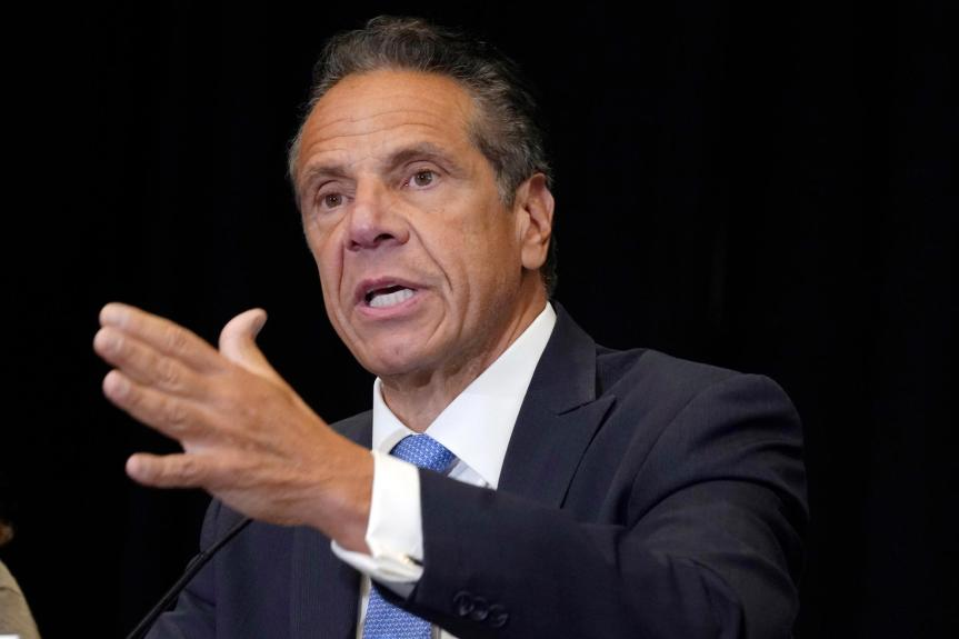 New York Gov. Andrew Cuomo resigning over sexual harassment