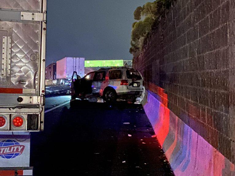 Man charged in wrong-way Encino crash that killed girlfriend, injured their 4 children