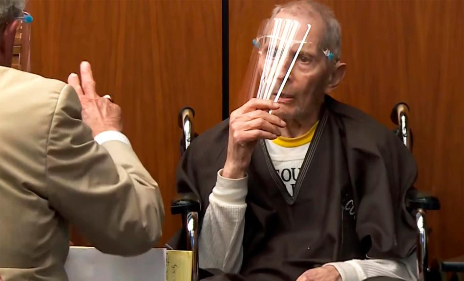 Back on the stand, Robert Durst again denies responsibility for killings