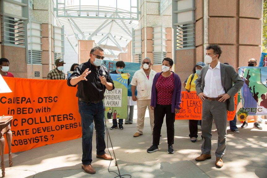 Valley activists, residents head to Sacramento to demand cleanup of contaminated Santa Susana Field Lab