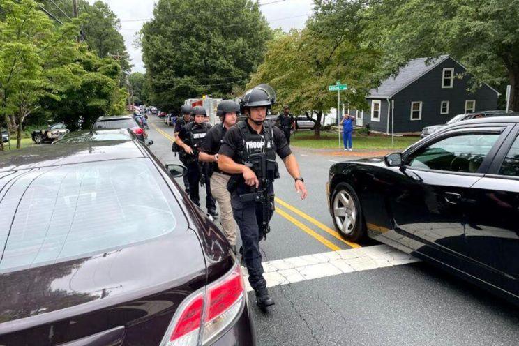 Shooting reported at North Carolina high school
