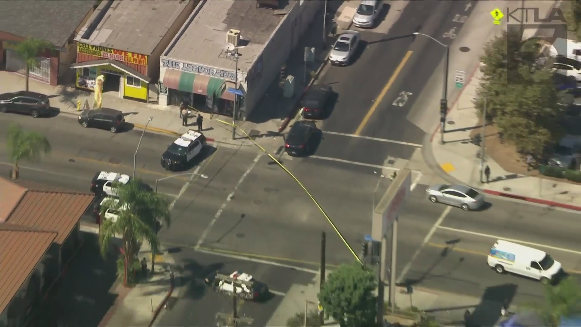 Monterey Park police officers wound man in East LA shootout