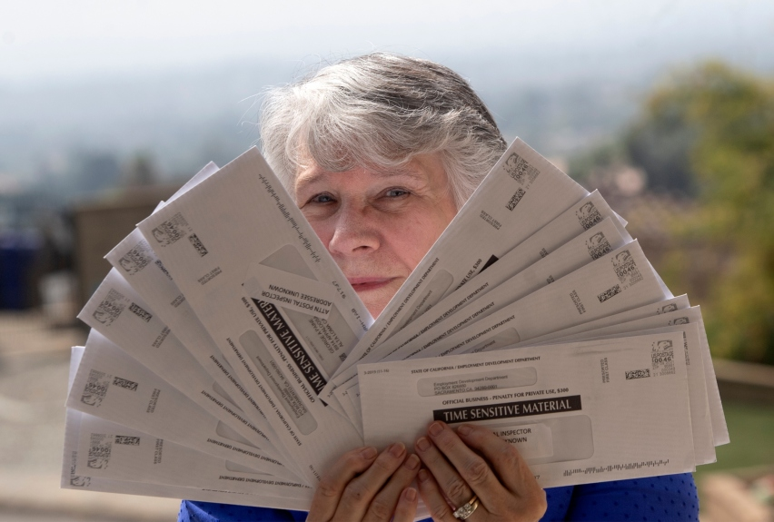 Couple receives mountain of EDD mail that isn't theirs