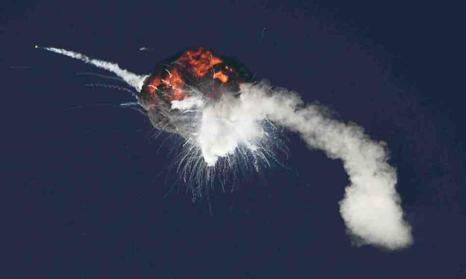 Fiery explosion for Firefly aerospace rocket after California liftoff; 'anomaly' blamed