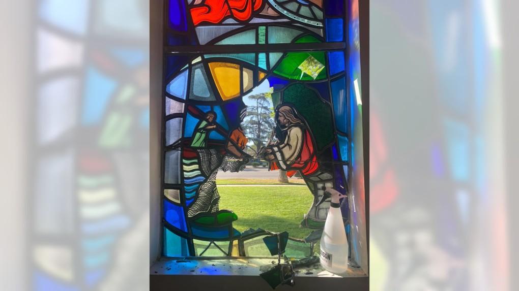 Armenian church in Van Nuys believes vandalism was a hate crime