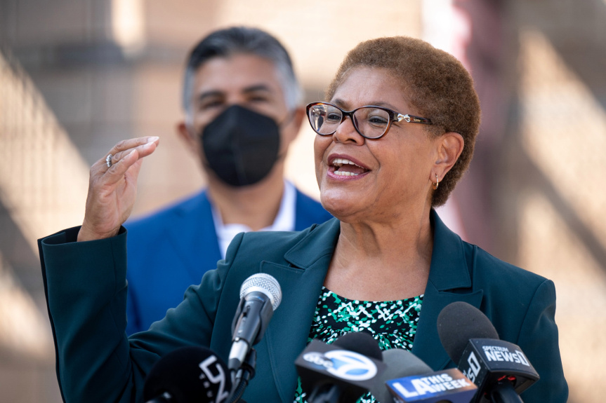 Amid community groundswell, Rep. Karen Bass says she's seriously considering run for LA mayor